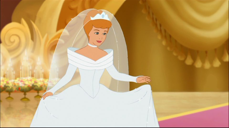 Out of cinderella 39 s wedding dresses which do you like for Disney princess cinderella wedding dress