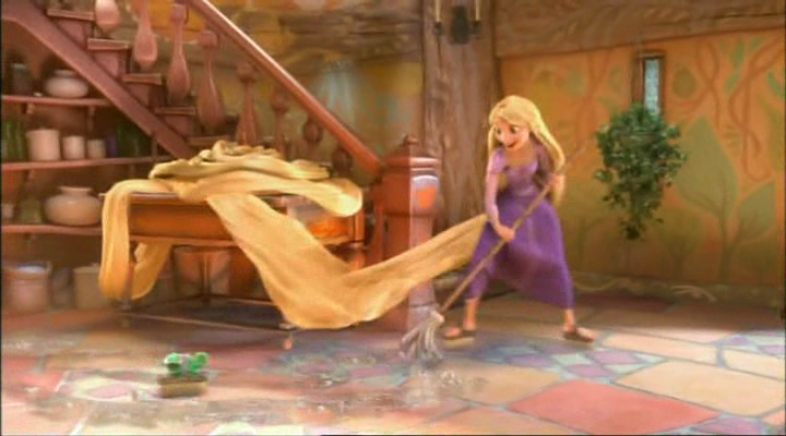 Which one of Rapunzel's daily activities would you most ...