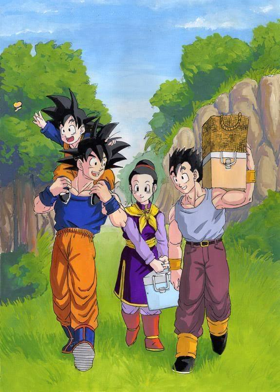 Goku And His Family http://www.fanpop.com/clubs/goku/picks/results/668155/what-makes-goku-strong
