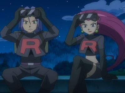 Black Team Rocket Team Plasma or Team Rocket