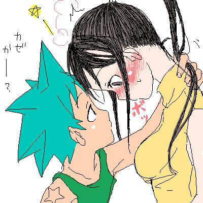 Soul Eater Black Star and Tsubaki