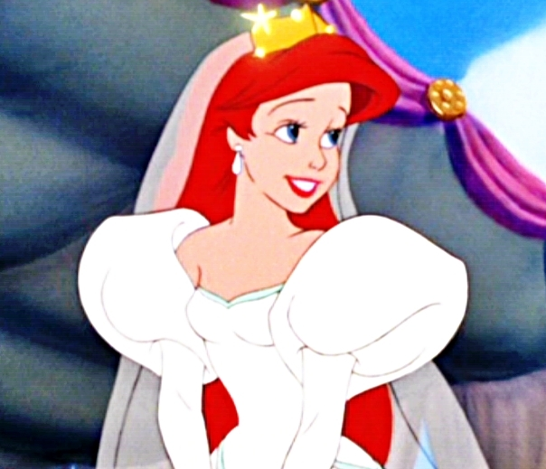 Ariel Vs Vanessa Favorite Wedding Dress Poll Results Disney Princess