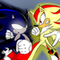 sonic and shadow!!!