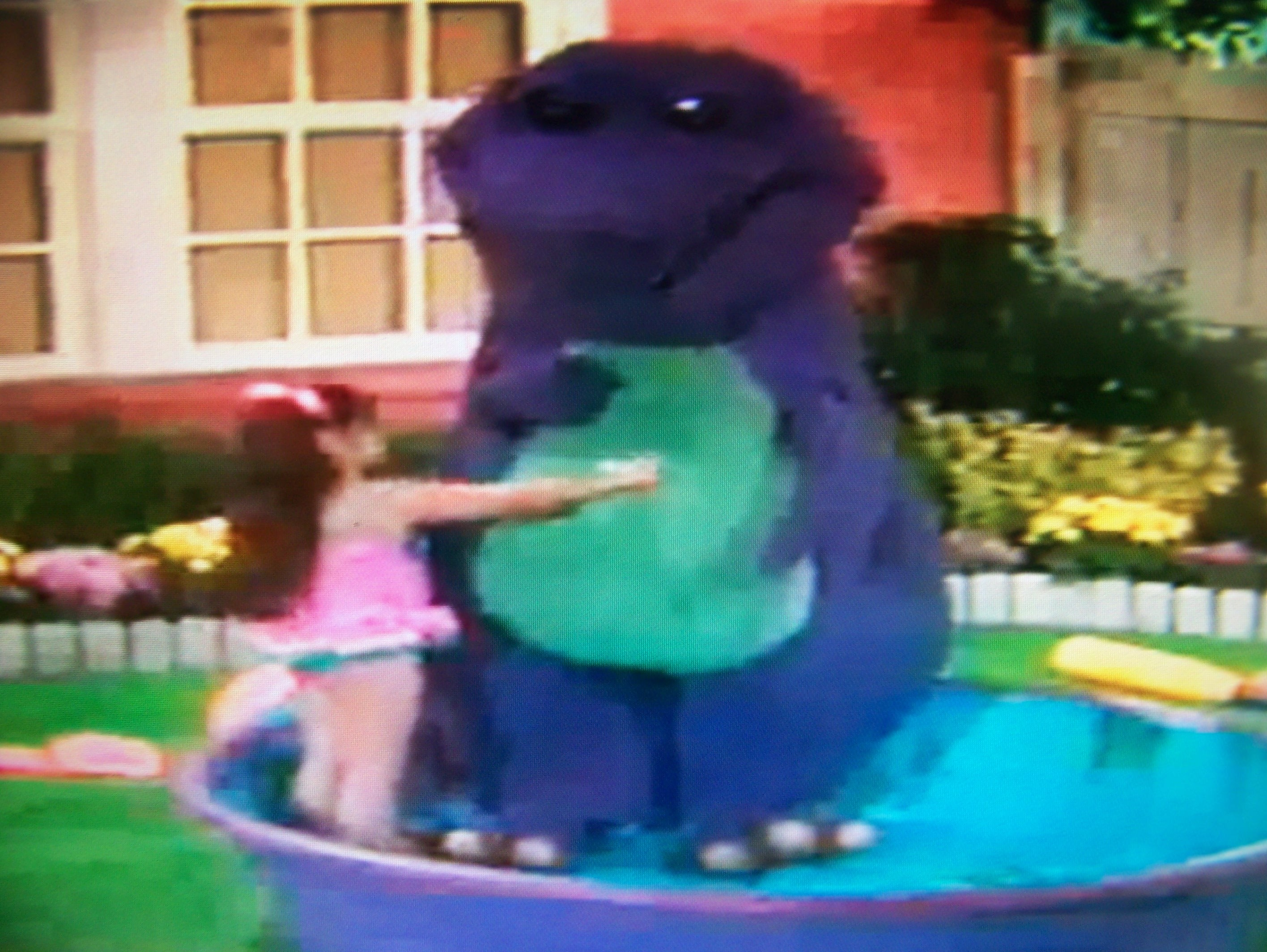 barney the purple dinosaur to you which was the saddest barney moment