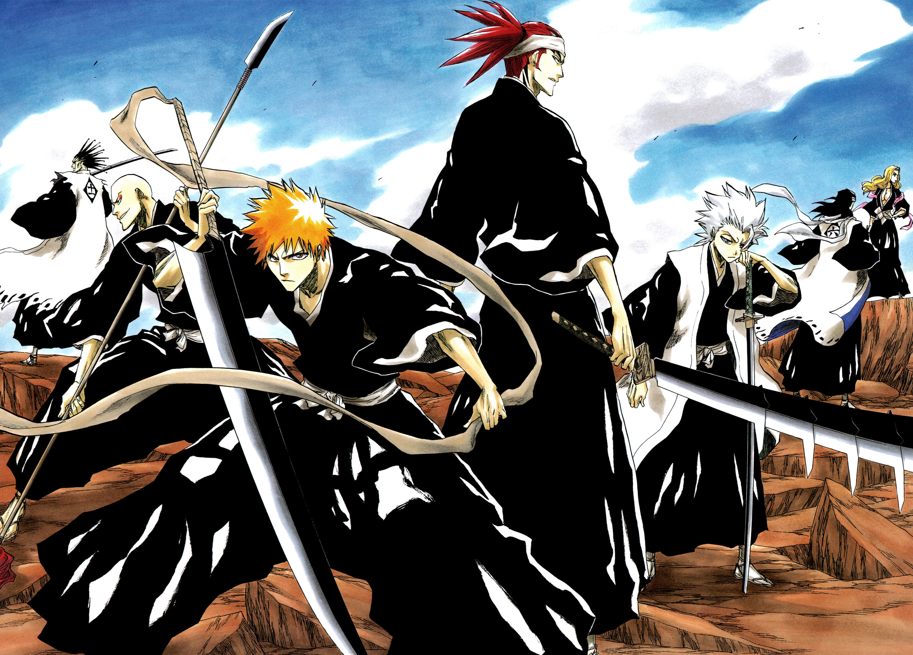 Anime Characters From Bleach : Bleach characters in normal or shinigami clothing poll