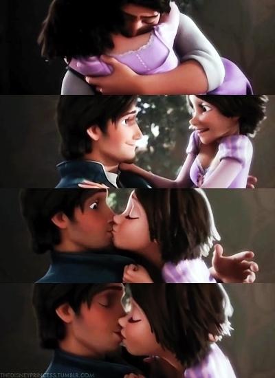 Favorite Rapunzel Flynn Romantic Moment Tangled Fanpop