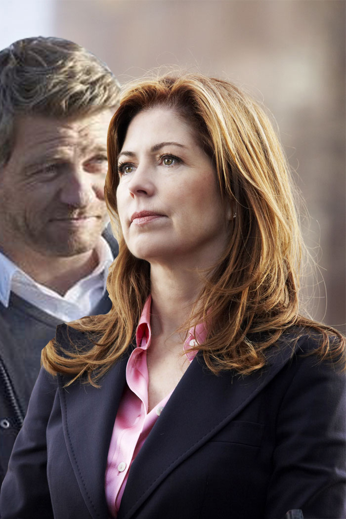 body of proof megan and peter relationship