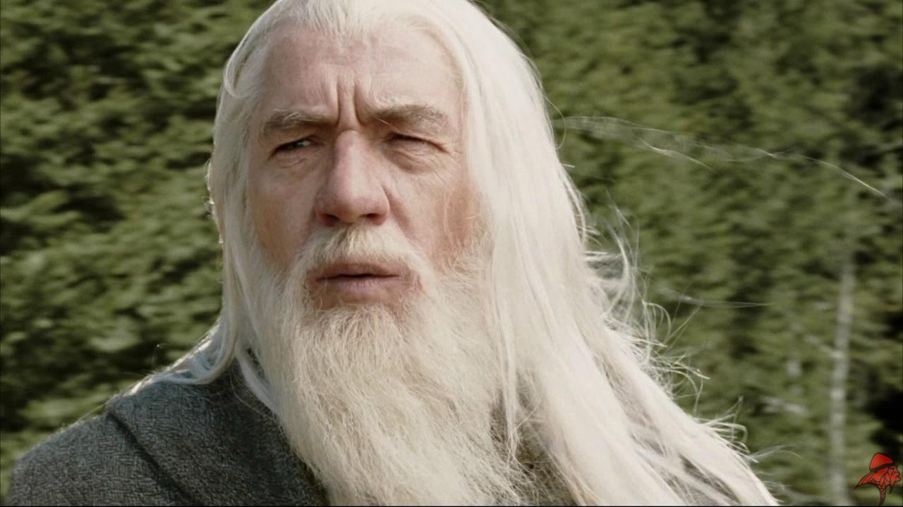 Gandalf Smiling