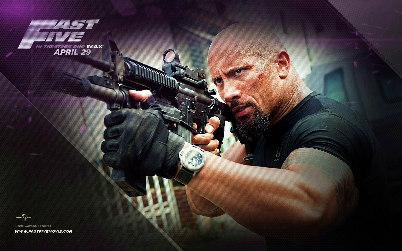 have you seen dwayne johnson 39 the rock 39 in fast five fast furious 5 film poll results. Black Bedroom Furniture Sets. Home Design Ideas