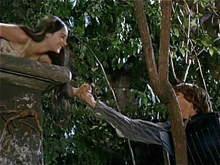 What is your favorite scene with romeo juliet 1968 for The balcony film