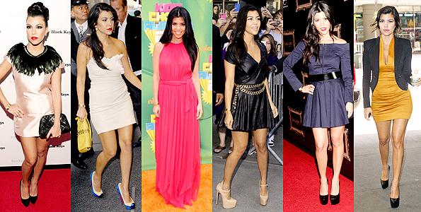 Kourtney Kardashian Prom Dress