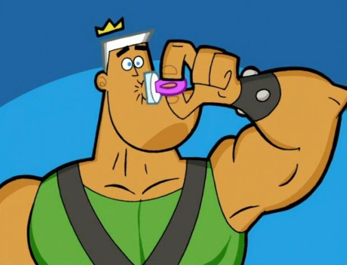 Head Pixie Jorgen Von Strangle on Francis From Fairly Oddparents