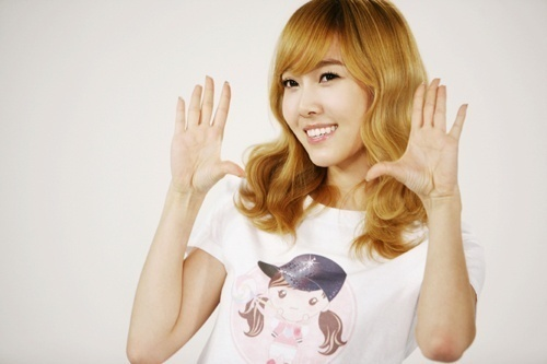 Short Hair Snsd Short Blonde Curly Hair With