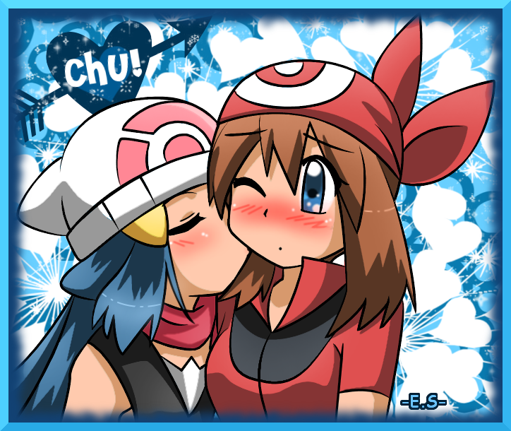 Hilda and Bianca Pokemon Yuri http://www.fanpop.com/clubs/pokemon/picks/results/766506