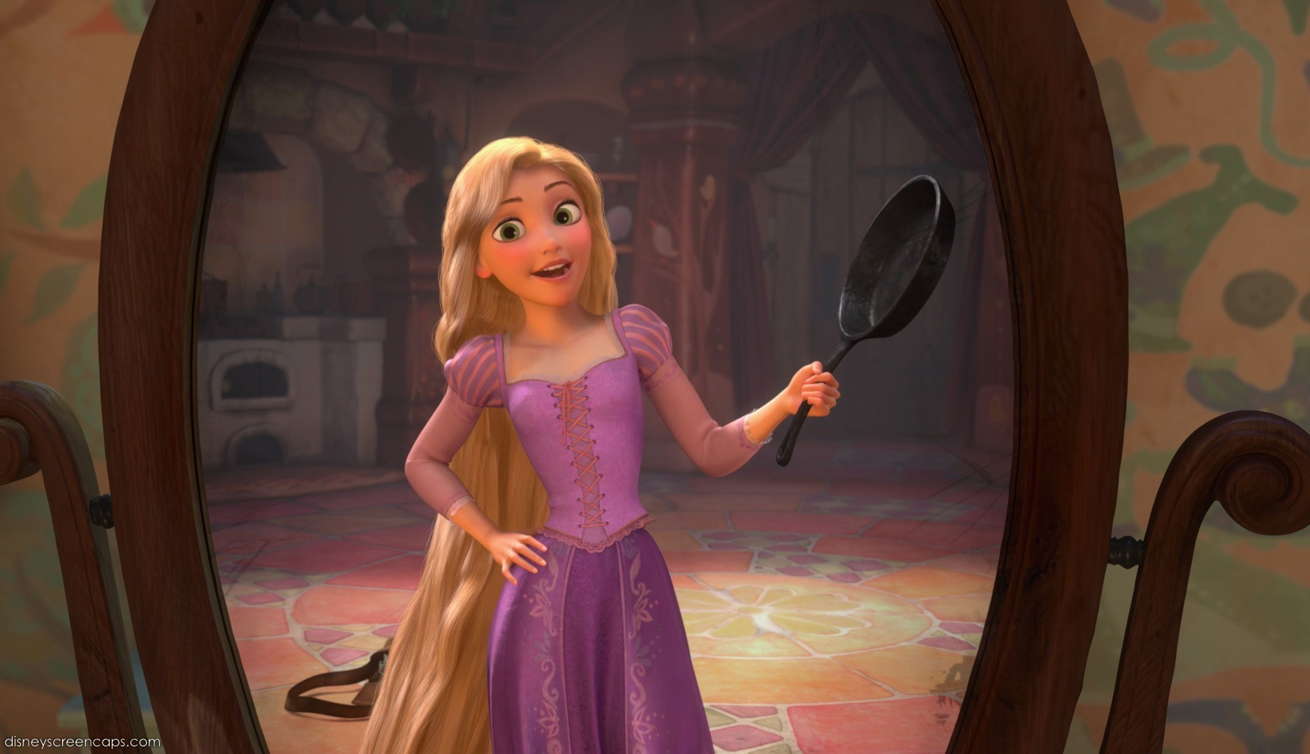 how to draw rapunzel full body