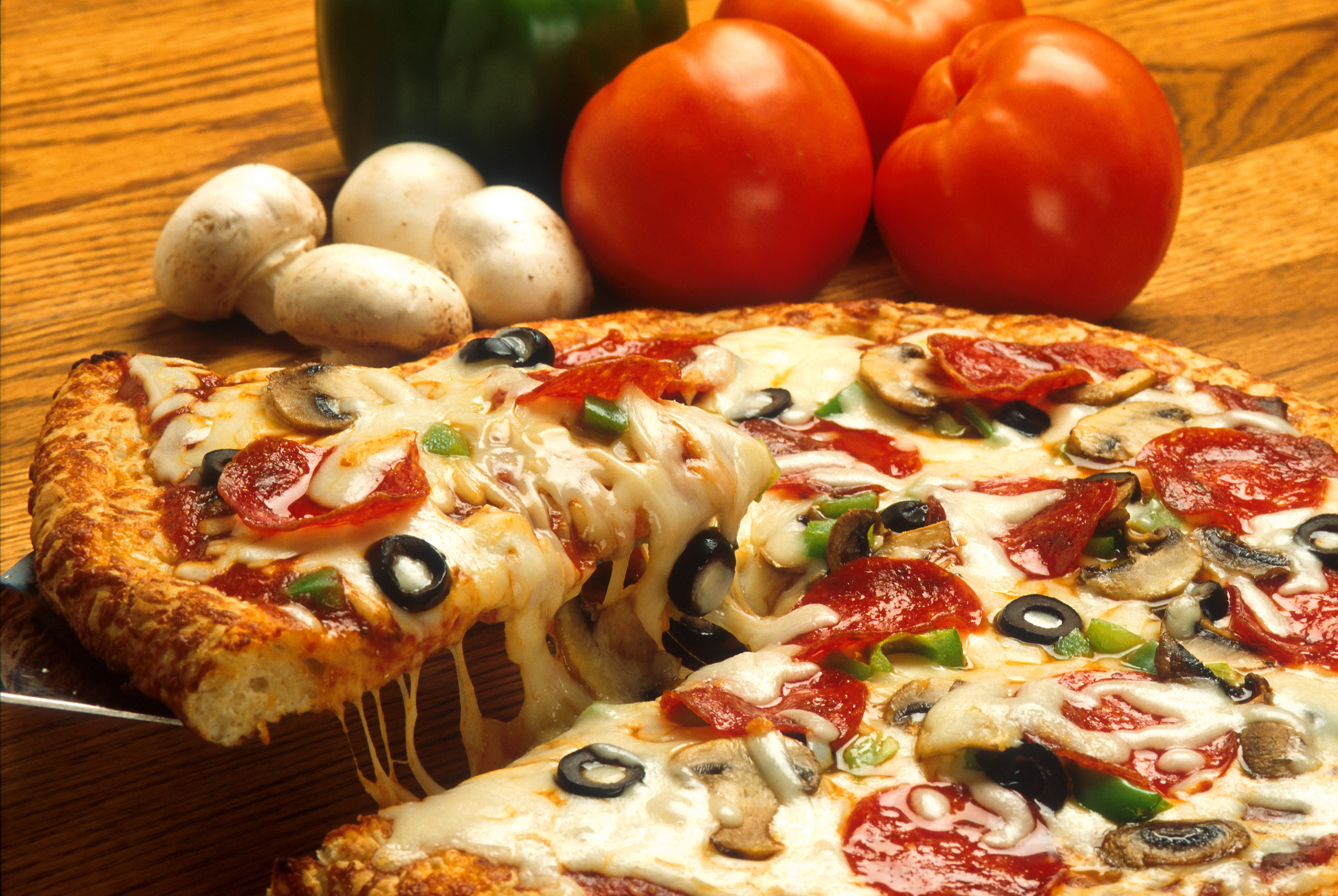 What is the most delicious pizza in Moscow 61