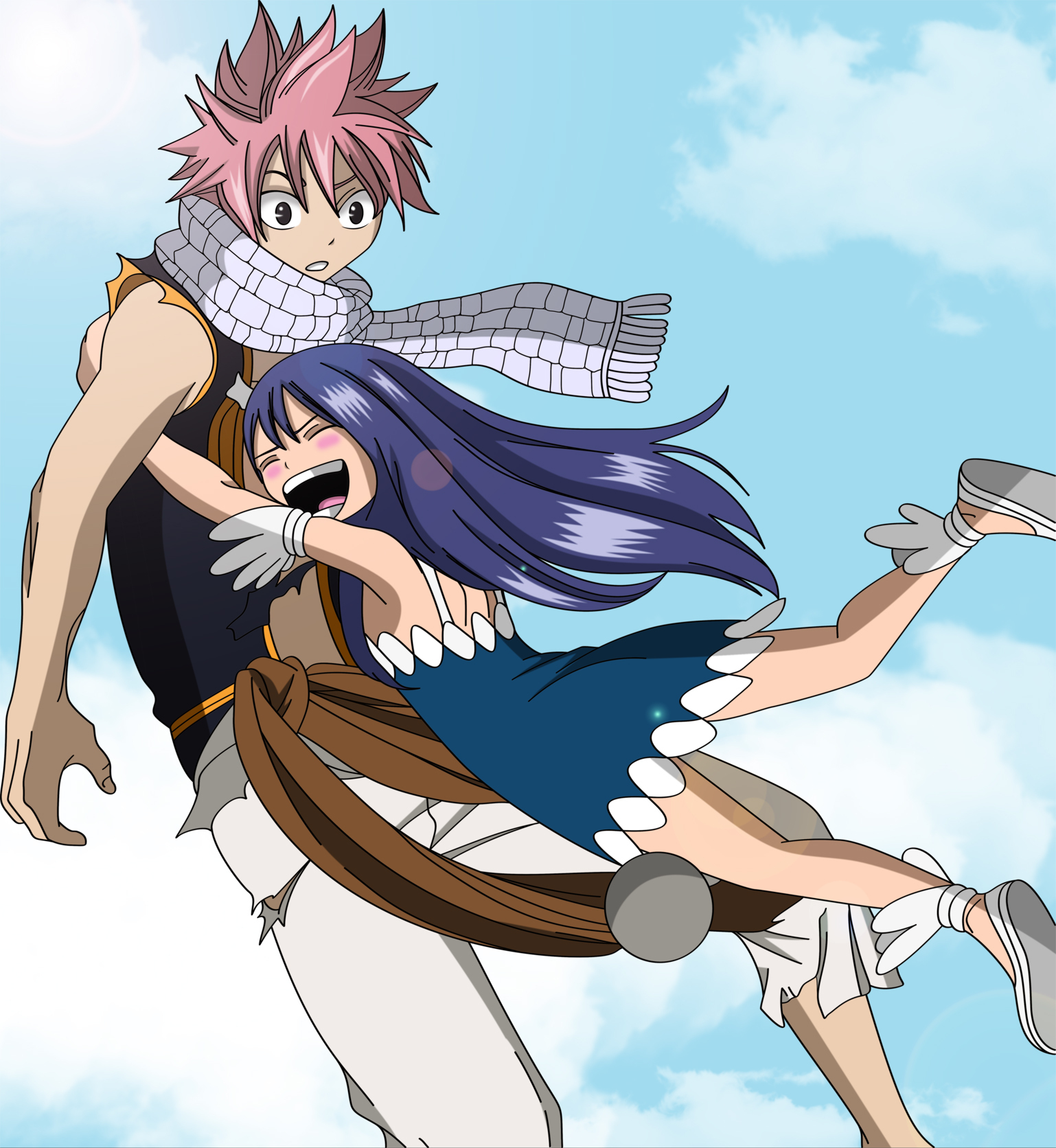 Which Couple do you like? Natsu,lucy,gray, or erza couple ...