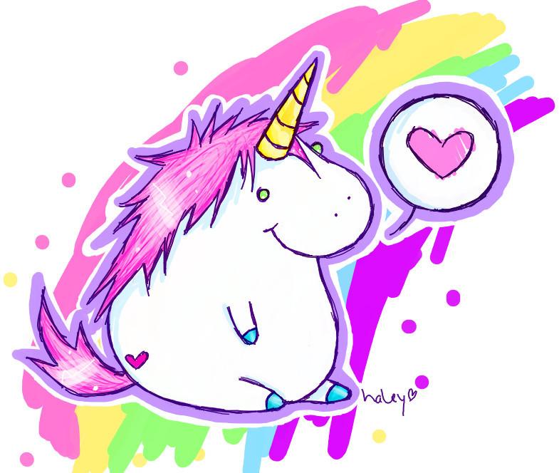 cute chubby unicorn for - photo #2
