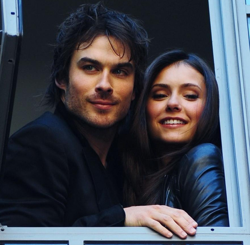 The cast of The Vampire Diaries in real life