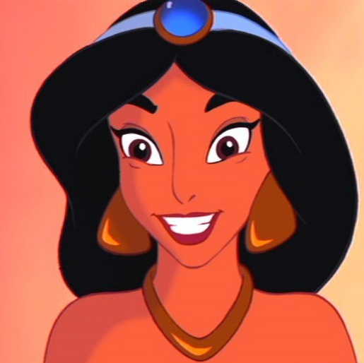 ed6a8131eea Disney Princess Which of these stereotypical profile pictures would Jasmine  likely have?