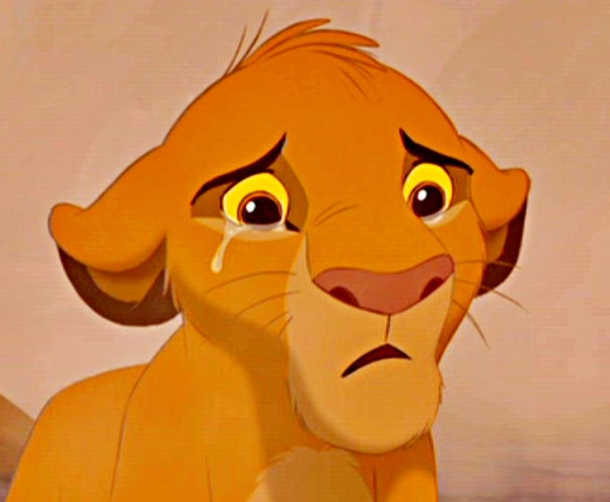 Cartoon Characters Crying : Sad disney moments the saddest one for you is poll
