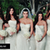 The Bridesmaid dresses from Kim's Wedding