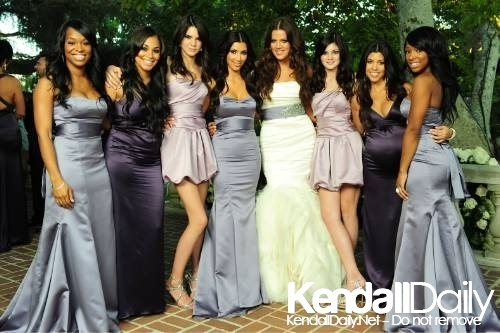 Keeping Up With The Kardashians Most Beautiful Bridesmaid Dresses?