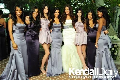 Keeping Up With The Kardashians Most Beautiful Bridesmaid
