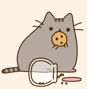 pusheen with food which one do you like the most poll