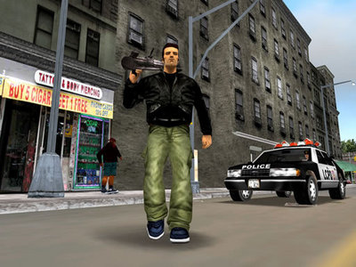 True Or False: In Grand Theft Auto IV, you can wear Claude's clothes from Grand Theft Auto III.