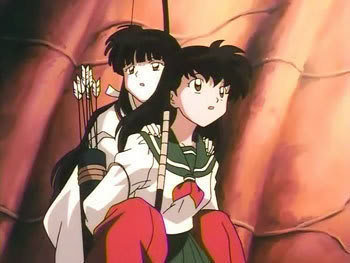 Kikyo and Kagome had their souls switched into each others body in one of the episode?