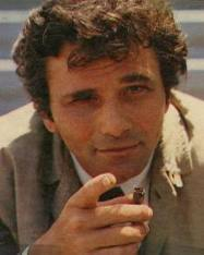 Columbo knows how to use a fax