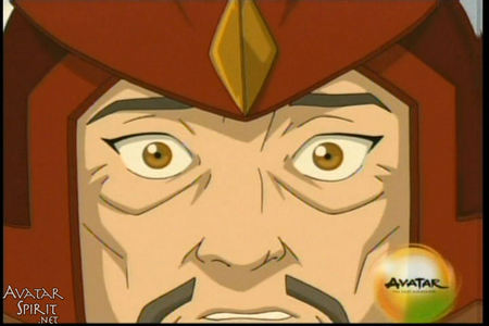 what was originally going to happen to the captain on azula's ship in the episode The Avatar State?