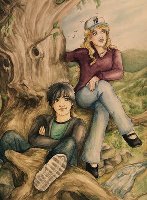 In what chapter of the last olympian did Percy request a किस from Annabeth?