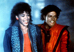 What's the name of the girl from Thriller?
