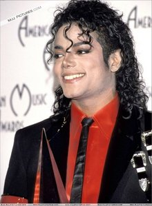 Michael's skin became lighter because...