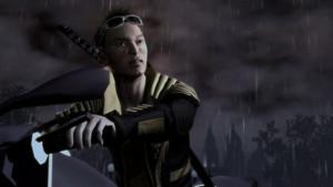 True au False: In Saints Row 2, the voice actor of Shogo Akuji also voiced Kakashi Hatake in the onyesha 'Naruto'.