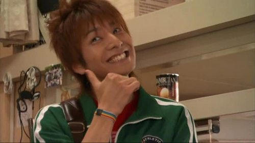 What sport did Nakatsu play in Hana Kimi?