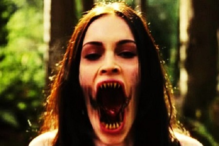 Which movie stars Megan Fox possessed by a demon ?
