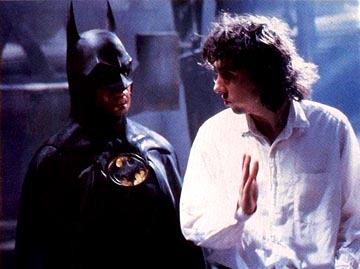Were a majority of people happy about Burton's casting decision on Batman?