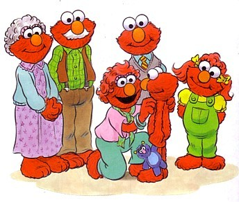 true or false elmo is an only child
