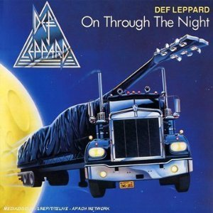 When was Def Leppard's debut album, (On Through the Night) released?