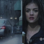 Who gave a ride to Aria in this scene?
