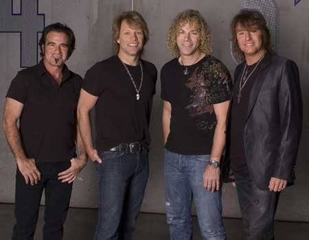 In what year was Bon Jovi inducted into the USA's Rock and Roll Hall of Fame?