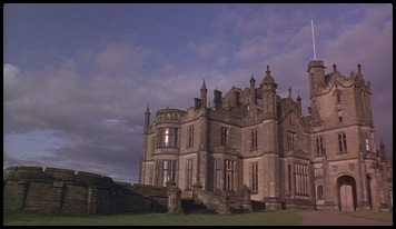 Which series is this castle used as the setting for a school?