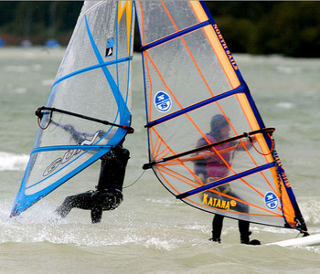 How It's Made: Which material comprises the inner, buoyant core of a typical sailboard?