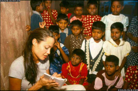 Angelina Jolie is a Goodwill Ambassador for which UN agency?