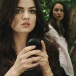 Who did Aria first told about the messages from A?