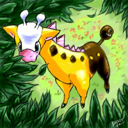 Which attack will Girafarig learn at level: 14 ?