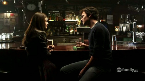 "Ezra: ""I thought about you every second I was gone…"". From?"